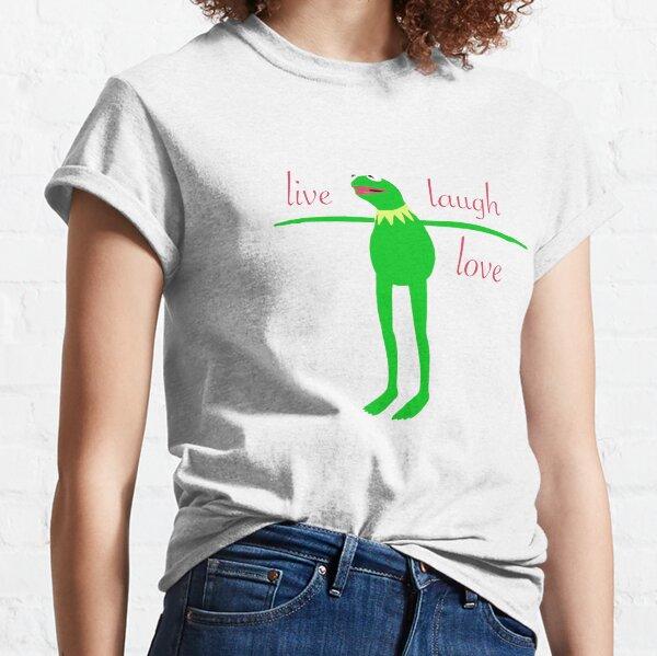 Live Laugh Love Kermit Classic T-Shirt