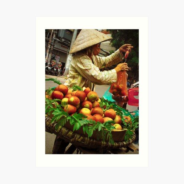 Apple Seller Art Print