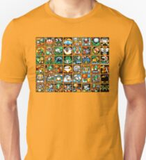 Yoshi's Island Level Icons Unisex T-Shirt