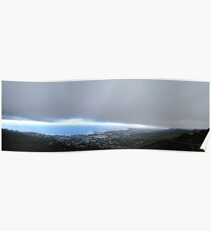 Storm over the Illawarra Poster