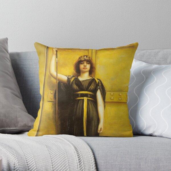 The Priestess Throw Pillow