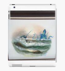 Narwhal vs the Chuthulu Kraken iPad Case/Skin