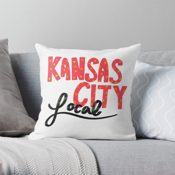 Kansas City Local Throw Pillow