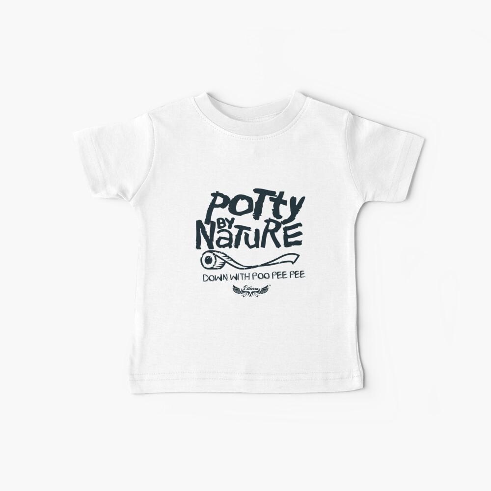Potty por naturaleza Camiseta para bebés