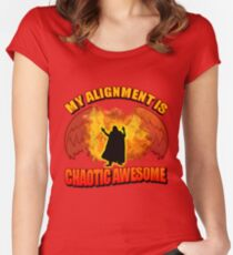 Chaotic Awesome Women's Fitted Scoop T-Shirt