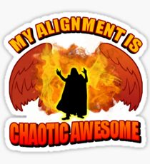 Chaotic Awesome Sticker