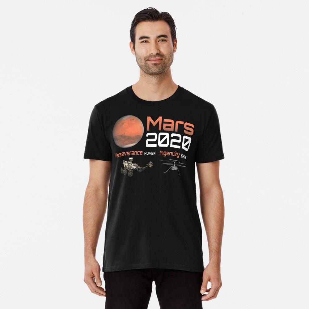 Mars 2020 Perseverance Premium T-Shirt