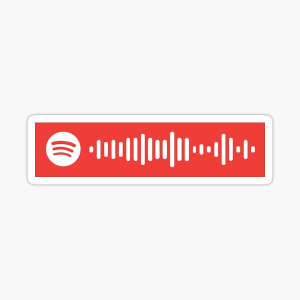 Bound 2 by Kanye West Spotify Scan Code Sticker