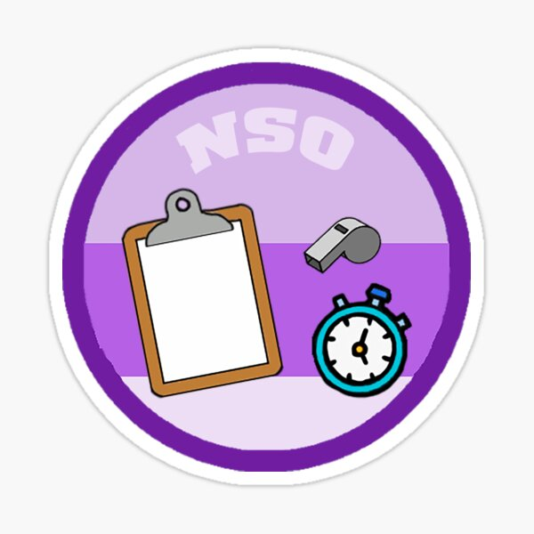 NSO Merit Sticker