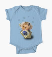 Hanukkah Hamster One Piece - Short Sleeve