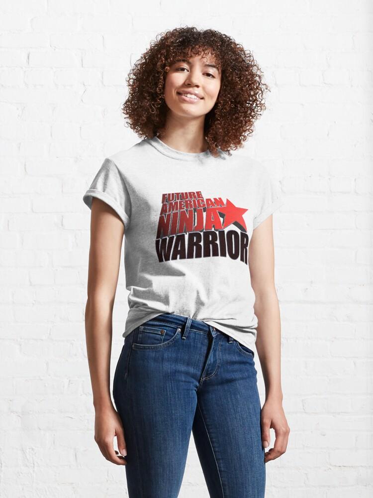 Alternate view of FUTURE American Ninja Warrior Classic T-Shirt