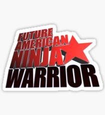 FUTURE American Ninja Warrior Sticker