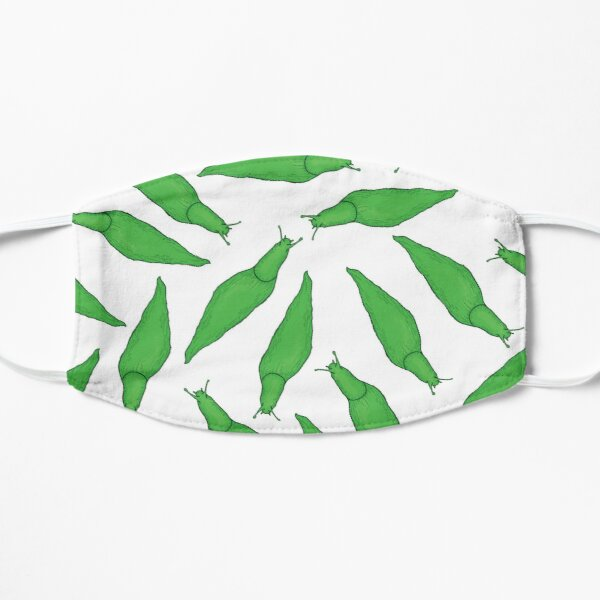 Green Slug Pattern Mask