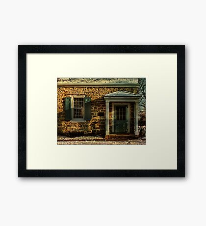 The Guard House Framed Print