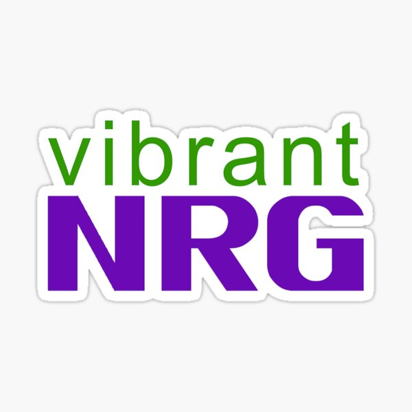 Vibrant Energy Sticker