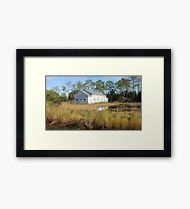 High Tide in the Marsh Framed Print