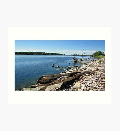 Shores of Kettle Lake Art Print