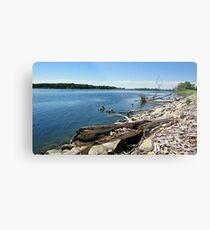 Shores of Kettle Lake Metal Print
