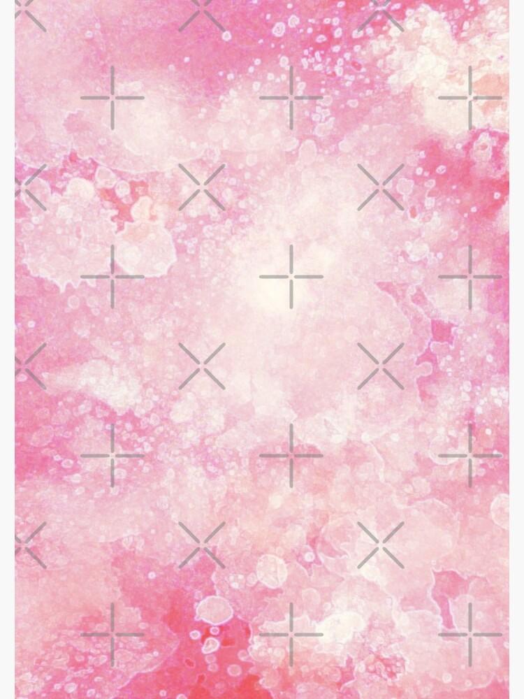 Pink watercolor splatters by ebozzastudio
