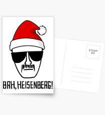Bah, Heisenberg! Postcards