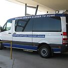 Emergency Transport Vehicle for newborn Babies by Bev Pascoe
