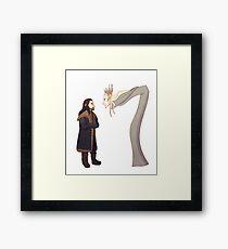 Dragon's Fire Framed Print