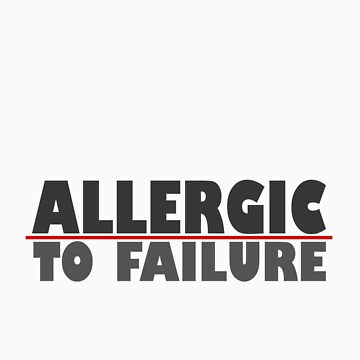 Eminem quote, Allergic to failure by lukesauds