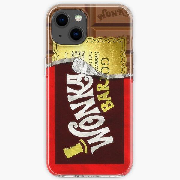 Willy Wonka Golden Ticket iPhone Soft Case