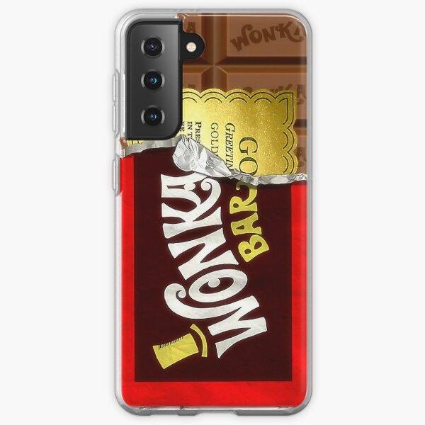 Willy Wonka Golden Ticket Samsung Galaxy Soft Case