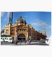 Goundhog Melbourne Poster