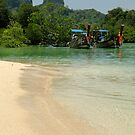 Phi Phi Beach by Paige