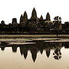Angkor Wat at dawn by Paige