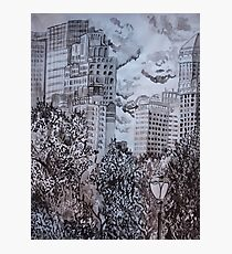 City from Central Park Photographic Print