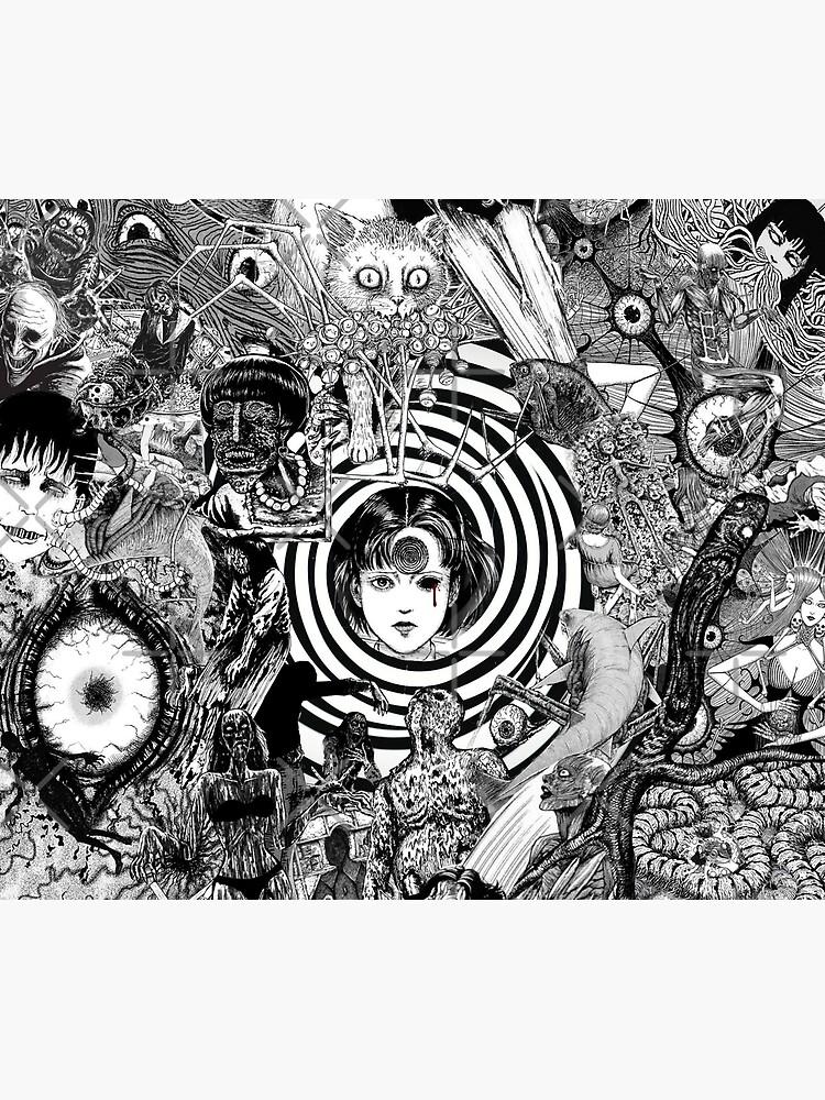 junji ito collage 2  by DottoreAlice