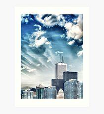 City Buildings Art Print