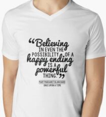 Happy Ending - Mary Margaret Men's V-Neck T-Shirt