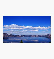 North Rim Of Crater Lake Photographic Print