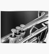 Trumpet close up Poster