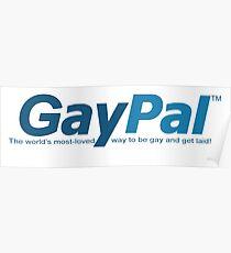 GayPal parody logo Poster