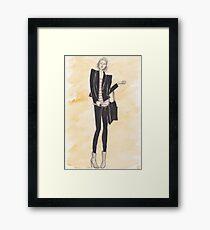 Fashion bod Framed Print