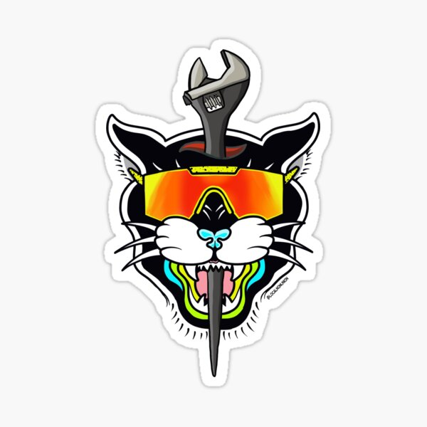 Panther spud wrench  Sticker