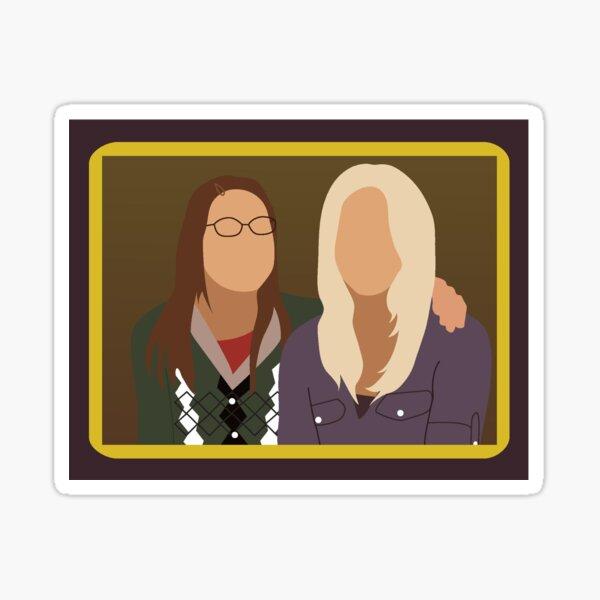 Peinture d'Amy et Penny Sticker
