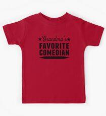 Grandma's Favorite Comedian Kids Clothes