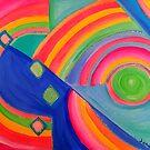 Childlike Glory - abstract art by jonkania