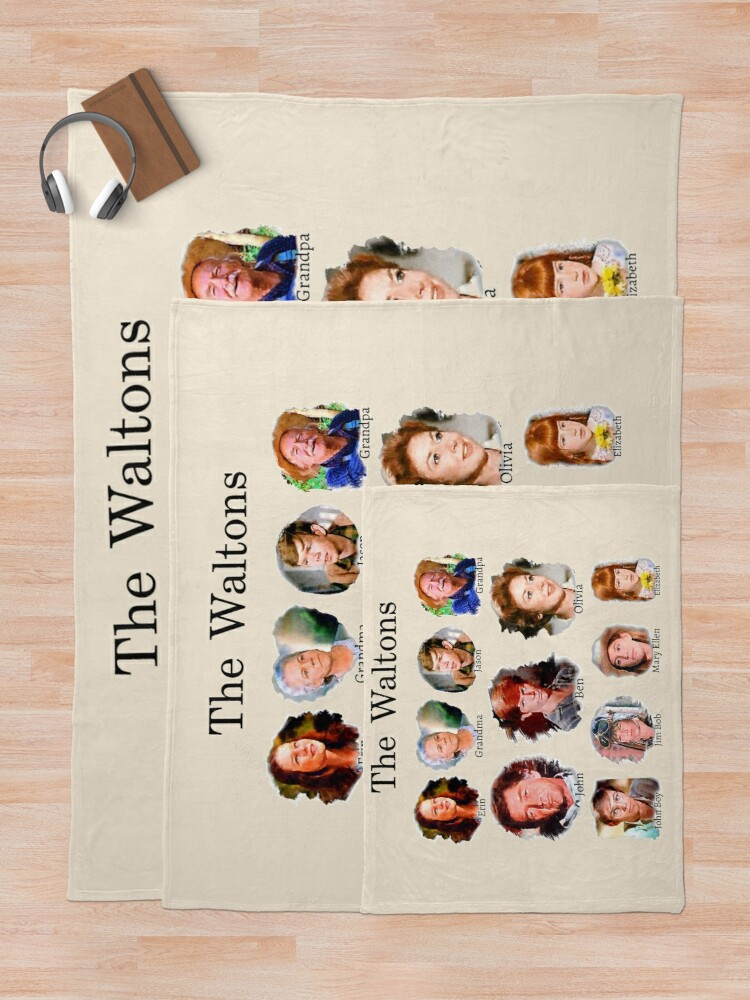 Alternate view of The Waltons Throw Blanket