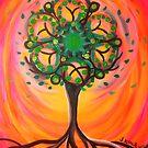 Psychedelic Tree  by jonkania
