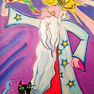 Not another bright idea! - Whimsy Wizard by jonkania