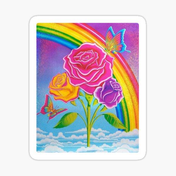 Lisa Frank Under the Rainbow Sticker Sticker