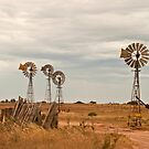 Windmills - Penong by pennyswork
