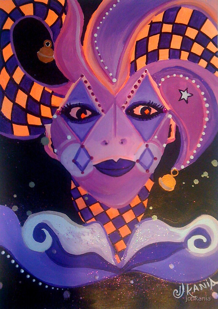Enchanted Harlequin by jonkania